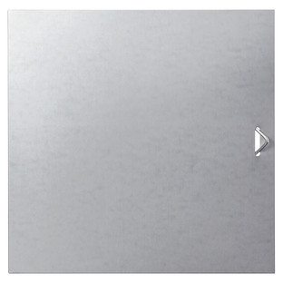 Galvanized QBO Solid Steel Door