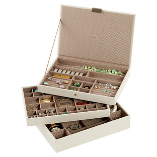 Vanilla Supersize Stackers Premium Jewelry Storage