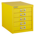 Yellow Bisley® 5-Drawer Cabinet