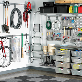 Platinum elfa utility Deluxe Garage Solution