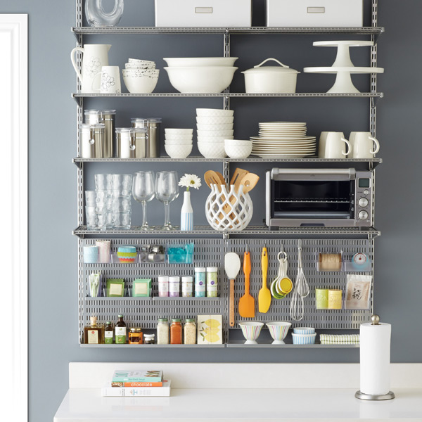 Kitchen Shelf Organization