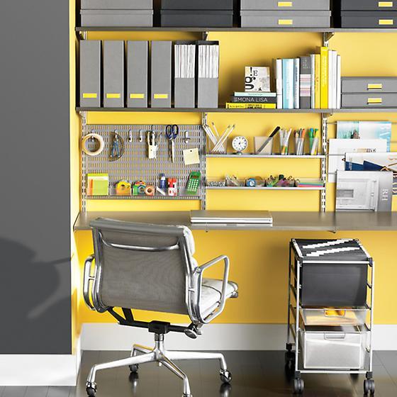 Driftwood & Platinum Home Office