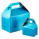 Blue Shimmer Gable Boxes