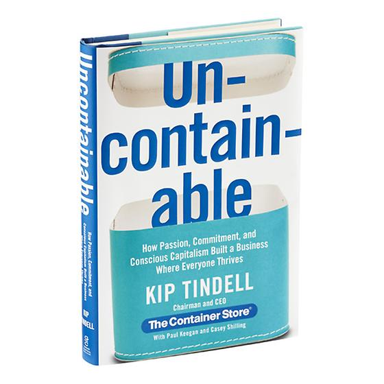 Uncontainable Book & Audio CD by Kip Tindell