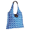 Blue Ikat Italia Shopper