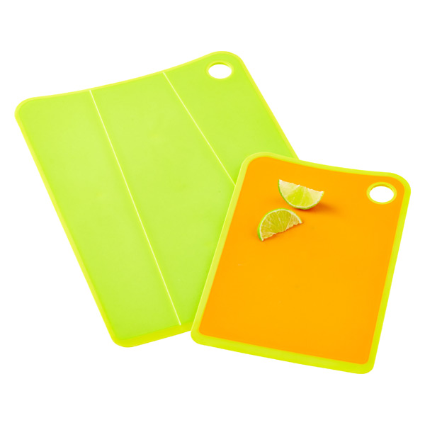 Non slip cutting board set the container store - Cutting board with prep bowls ...