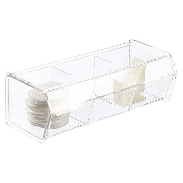 3-Section Acrylic Organizer