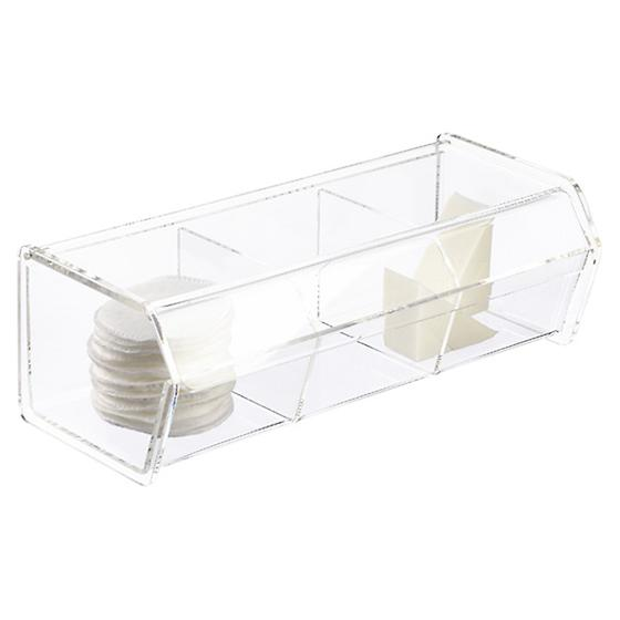 3-Section Acrylic Organizer
