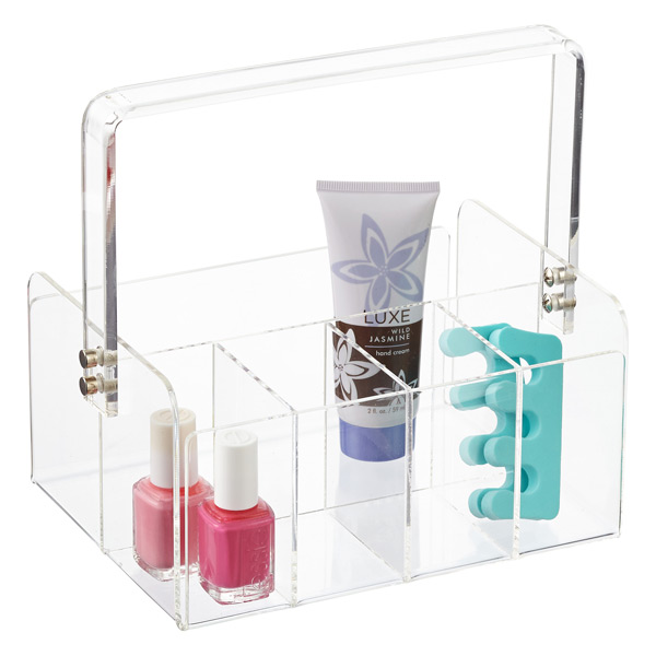 5-Section Acrylic Tote