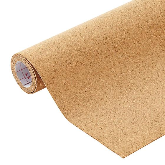 Cork Self-Adhesive Drawer & Shelf Liner