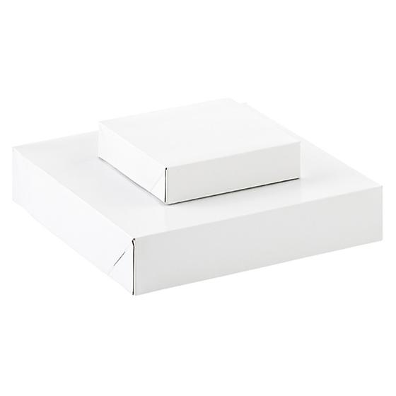 White 2-Piece Square Gift Boxes