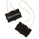 Chalkboard Hanging Sign Tags