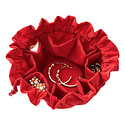 Red Drawstring Jewelry Pouch by baggallini