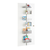 Platinum elfa utility Mesh Media Room Door & Wall Rack Solution