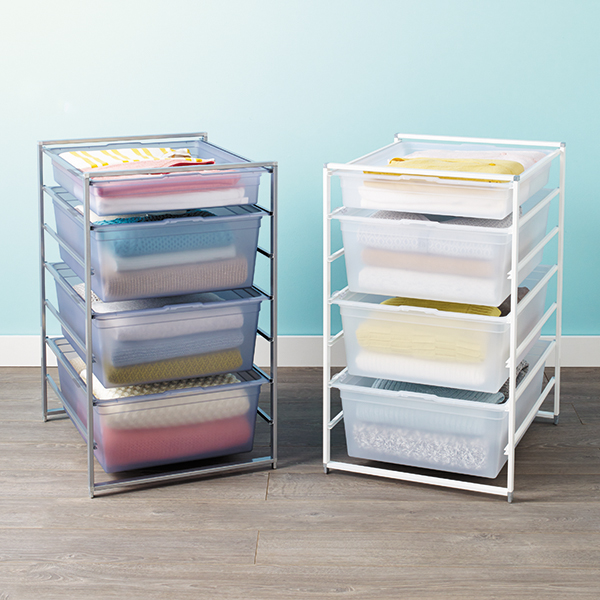 the container store mesh drawer in out stops 1