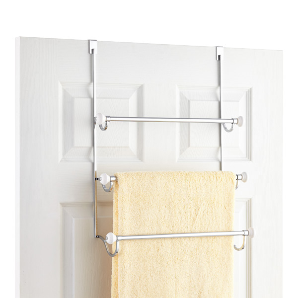 York Overdoor Towel Rack