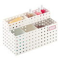 White Like-it Bricks Manicure Storage