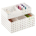 White Like-it Bricks Arts & Crafts Organizer