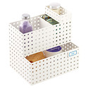 White Like-it Bricks Bath Storage