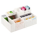White Like-it® Bricks Pantry Organizer