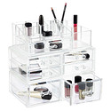 Crystal Cosmetics Stacking Organizer & Drawers