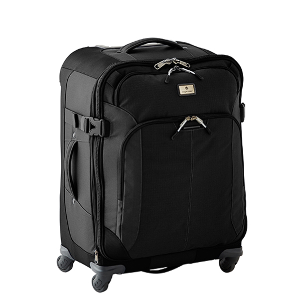 "Eagle Creek Black 25"" Adventure 4-Wheeled Luggage"