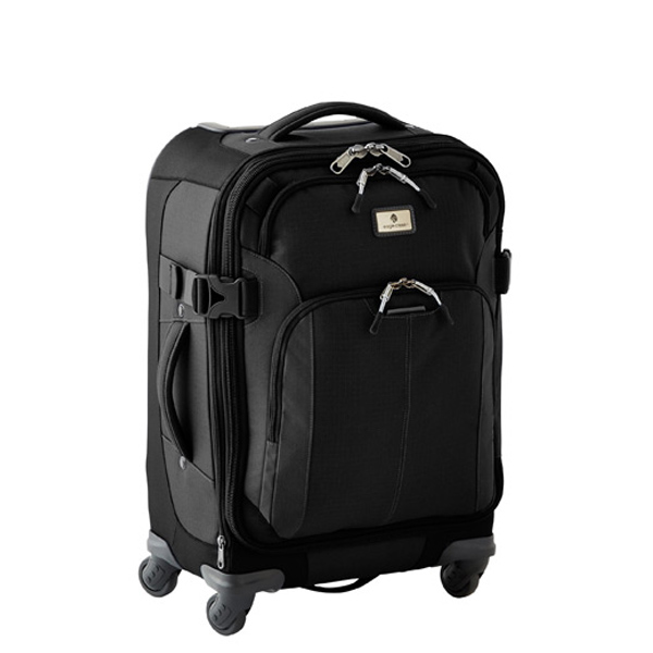 "Eagle Creek™ Black 22"" Adventure 4-Wheeled Luggage"