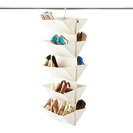 origami hanging organizer by umbra the container store