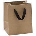 Mini Kraft Manhattan Recycled Gift Tote