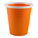 Orange Rinko Wastebasket