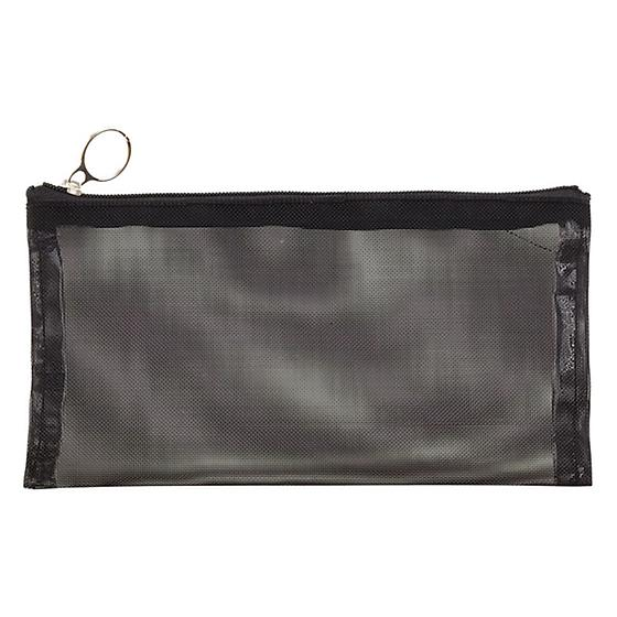 Black Micro Mesh Pouches