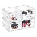 Crystal Stacking Organizer Drawers