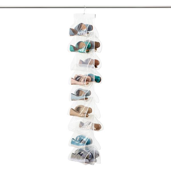 PEVA 18-Pocket Shoe File