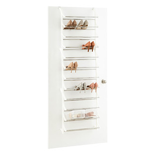 36-Pair Overdoor Shoe Rack