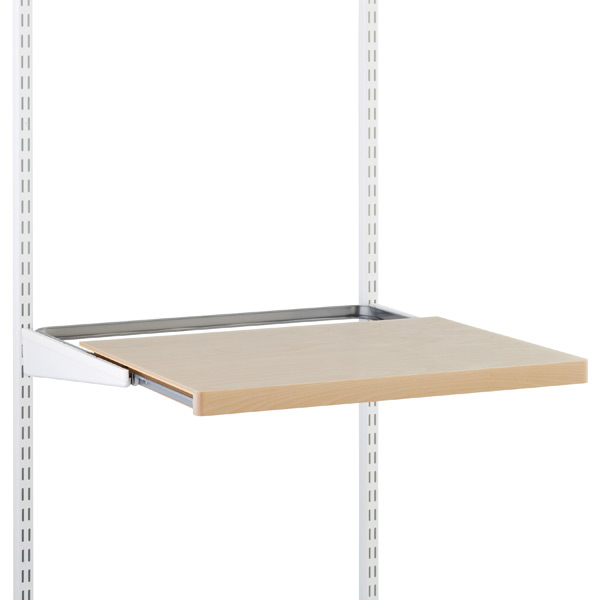 Birch elfa décor Gliding Shelf
