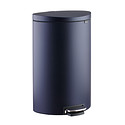 Mineral Navy 10 gal. Flatback Semi-Round Can