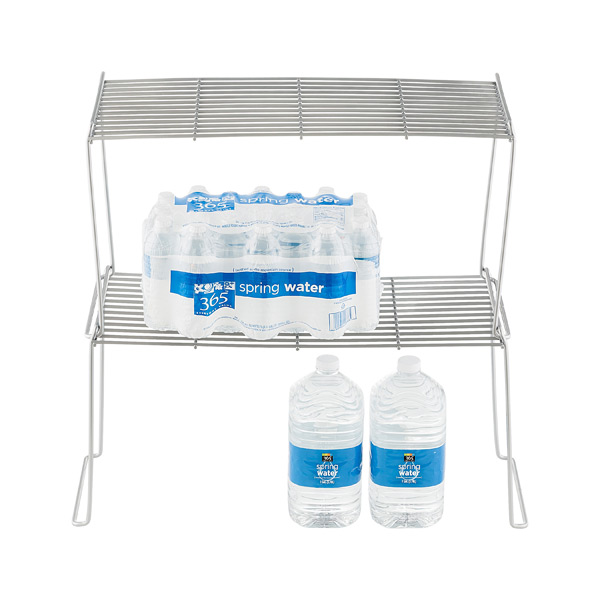 Large Flat Wire Stacking Shelves