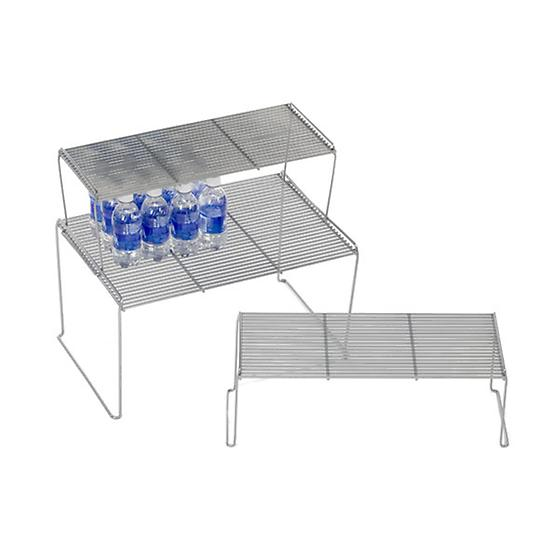 Medium Flat Wire Stacking Shelves