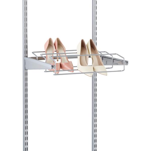 Platinum elfa Gliding Shoe Racks