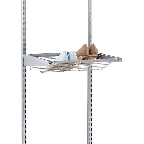 Platinum elfa Gliding Shoe Shelves