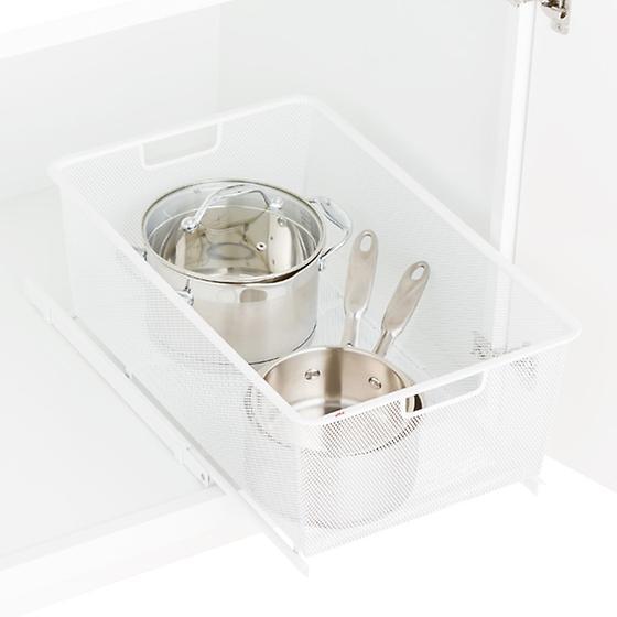 White Drawer Storage