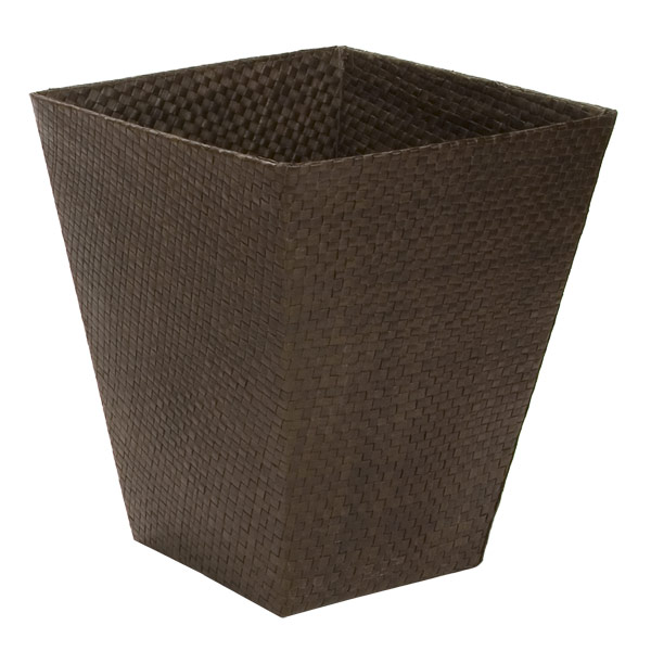 Java Square Pandan Wastebasket