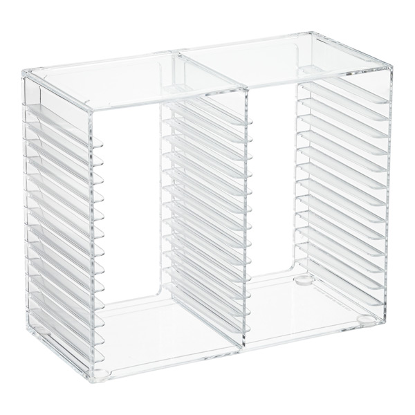 Acrylic CD Rack | The Container Store