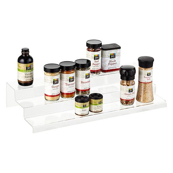 3-Tier Acrylic Cabinet Organizer