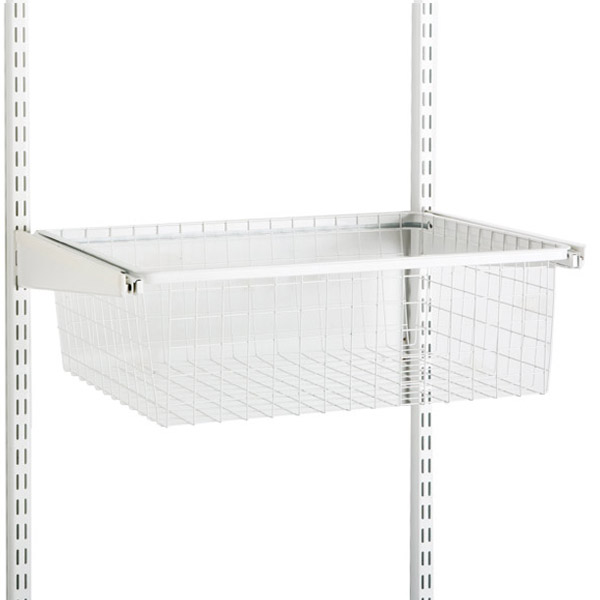 White elfa Hanging Drawer & Frame