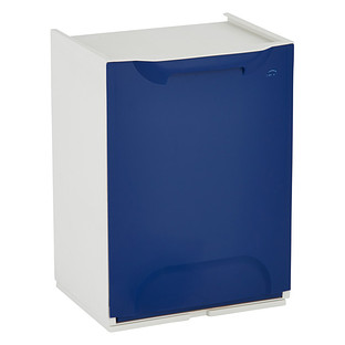 Drop-Front Recycle Bin