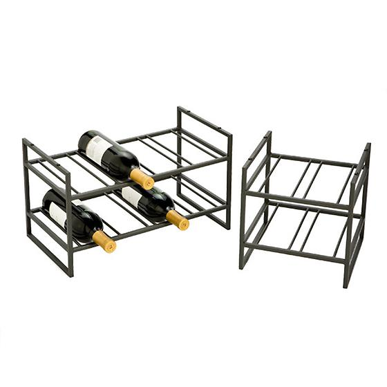 Iron Stacking Wine Racks