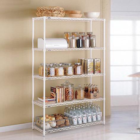 InterMetro Kitchen Shelves The Container Store