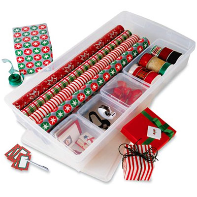 Customized Gift Wrap Center