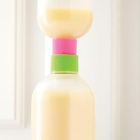 Lotion Saver Bottle Couplers